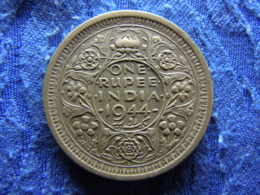 INDIA BRITISH 1 RUPEE 1944 L, KM557.1 - Indien