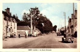 [45] Loiret CHECY   /LA ROUTE NATIONALE / VOITURE - France