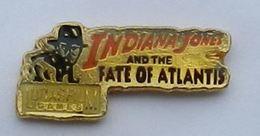 K89 Pin's CINEMA INDIANA JONES FATE OF ATLANTIS LUCAS FILM MOVIE Achat Immediat - Cinéma
