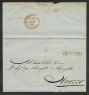 DA GROSSETO AD AREZZO - 14.5.1842. - Italia