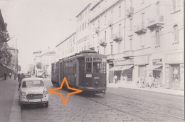 MILANO Foto Di TRAMWAY. Linea Verso Marengo, Motrice N°4025. - Milano