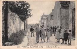 PRECY SUR MARNE - La Rue De La Marne - Autres Communes