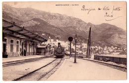 4625 - Monaco - Monte-Carlo - La Gare - - Monte-Carlo