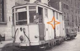 MILANO Foto Di TRAMWAY. Servizio, Motrice N°13 - (2 Scans). - Milano (Milan)