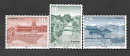 2002 - N. 3997/99** (CATALOGO YVERT & TELLIER) - 1949 - ... Repubblica Popolare