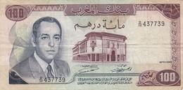 MAROCCO - BANQUE Du MAROC - 100 DIRHAMS (1970) - Maroc