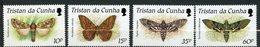 Tristan Da Cunha, Yvert 465/468, Scott 472/475, MNH - Tristan Da Cunha
