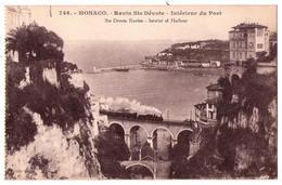 4626 - Monaco - Ravin Sainte-Dévote ( Intérieur Du Port ) - édit. Giletta - N°746 - - Hafen