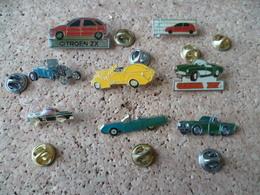 8 PIN'S   VOITURE - Pin's