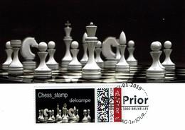 Belgien Belgium 2019 - PRIOR - Schach Chess Ajedrez échecs - MK - Schach