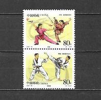 2002 - N. 4050/51** (CATALOGO YVERT & TELLIER) - 1949 - ... Repubblica Popolare