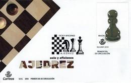 Spanien Spain Espana 2018 - Schach Chess Ajedrez échecs - MiNr 5267 FDC - Schach