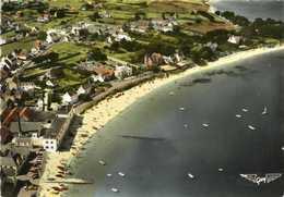 CPSM Grand Format LA FRANCE VU DU CIEL ...SAINT PIERRE QUIBERON (Morbihan) La Plage Colorisée RV - France