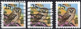United States 1988 - Mi 1981Dr/Dl/Eru - YT 1813 ( Owl ) - Stati Uniti
