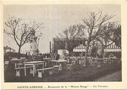 SAINT ADRESSE: RESTAURANT DE LA MAISON ROUGE - LES TERRASSES - Sainte Adresse
