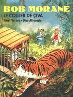 Bob Morane T 05  Le Collier De Civa  RE-EDITION BE-  LEFRANCQ  09/1989 Vernes Attanasio  (BI1) - Bob Morane