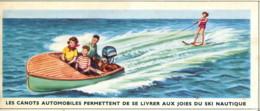 Image 13x 5,3 : Les Canots Automobiles Permettent De Se Livrer Aux Joies Du Ski Nautique - Old Paper