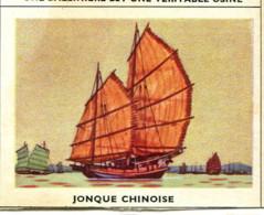 Image 6,8 X 5,3 : Jonque Chinoise - Vieux Papiers