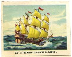 """Image 6,8 X 5,3 : Le """"Henry-Grace-A-Dieu"""" - Old Paper"""