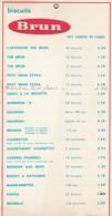PUB - BISCUITS BRUN - Publicités