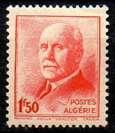 ALGERIE. N°196 De 1943. Maréchal Pétain. - Unused Stamps