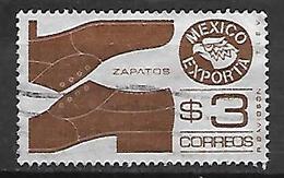 MEXIQUE    -   Exportations  /  Chaussures  /  Cordonnerie, Oblitéré - Mexique