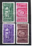 POL1069 RUMÄNIEN 1937 MICHL 524/27 (*) FALZ  SIEHE ABBILDUNG - 1918-1948 Ferdinand, Carol II. & Mihai I.