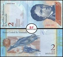 Venezuela | 2 Bolivares | 2012 | P.88e | UNC - Venezuela