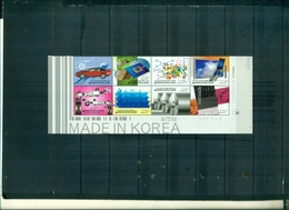 COREE DU SUD PRODUITS D'EXPORTATIONS 8 VAL NEUFS A PARTIR DE 0.75 EUROS - Corea Del Sud