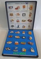 COFFRET De 16 Pin's SUCRE BEGHIN SAY Numeroté 013/100 - Alimentation