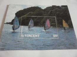 Miniature Sheet Perf Wind Surfing St Vincent - St.Vincent (1979-...)