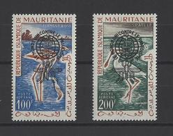 MAURITANIE  YT  PA  N° 20C/20D  Neuf **  1962 - Mauritania (1960-...)