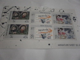 Miniature Sheet Perf Health New Zealand - Unused Stamps