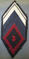 Losange Mod.1945  3° Régiment De Cuirassiers - Armée De Terre