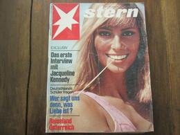 MAGAZINE STERN APRIL 1967  N 14 DAS ERSTE INTERVIEW MIT JACQUELINE KENNEDY REISELAND OSTERREICH - Voyage & Divertissement