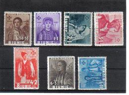 POL1063 RUMÄNIEN 1936 MICHL 509/15 (*) FALZ  SIEHE ABBILDUNG - 1918-1948 Ferdinand, Carol II. & Mihai I.