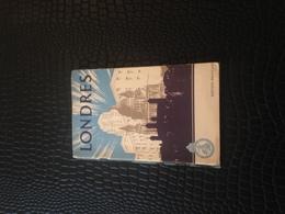 ANGLETERRE - LONDRES - GUIDE TOURISTIQUE - EDITION 1949 - Dépliants Touristiques