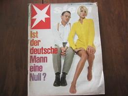 MAGAZINE STERN OKTOBER 1967   N 43 IST DER DEUTSCHE MANN EINE NULL? - Voyage & Divertissement