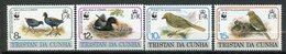 Tristan Da Cunha, Yvert 491/494, Scott 500/503, MNH - Tristan Da Cunha