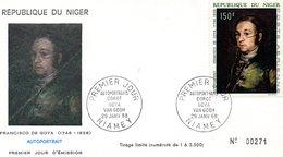 Niger 1968 Niamey Francisco De Goya - Niger (1960-...)