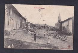 Peu Courante Brizeaux (Meuse 55) ( Vue Animée Centre Du Village Ed. Hyardin) - France