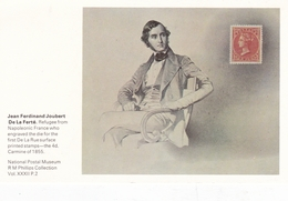 Great Britain Jean Ferdinand Joubert De La Ferte National Postal Museum Postcard - Altri