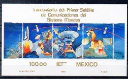 MEXIQUE   Timbres Neufs ** De 1985  ( Ref 6423 )  Communications - Espace - Mexique