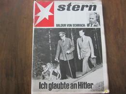 MAGAZINE STERN MAI  1967   N 21 BALDUR VON SCHIRACH ICH GLAUBTE AN HITLER - Travel & Entertainment
