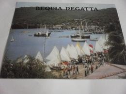 Miniature Sheet Perf Port Elizabeth Regatta - St.Vincent & Grenadines