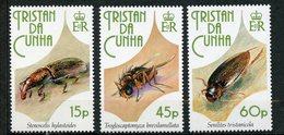 Tristan Da Cunha, Yvert 511/513, Scott 521/523, MNH - Tristan Da Cunha