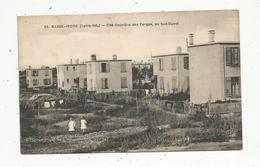 Cp,44 ,  BASSE-INDRE , Cité Ouvrière Des Forges , Au Sud Ouest ,vierge ,ed. Chapeau - Basse-Indre
