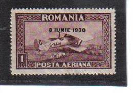 POL1032 RUMÄNIEN 1930 MICHL 372 Y (*) FALZ  SIEHE ABBILDUNG - 1918-1948 Ferdinand, Carol II. & Mihai I.