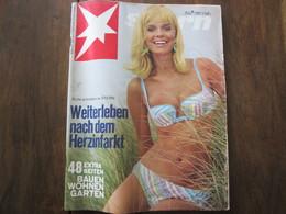 MAGAZINE STERN JULI  1966   N 30  WEITERLEBEN NACH DEM HERZINFARKT - Voyage & Divertissement