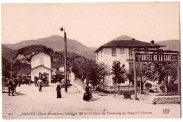 4630 - Sospel ( A.M. ) - Gare Du Tramway De Sospel à Menton - N.D. Phot. - N°891 - Sospel